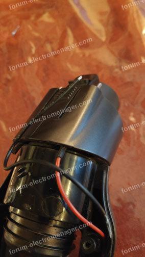 démontage manche du balai Rowenta RH877901