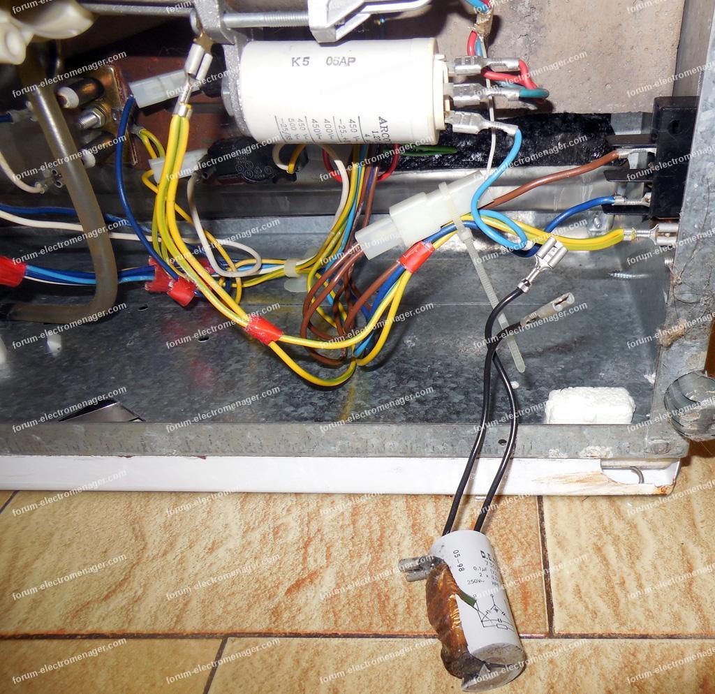 Problème lave-vaisselle Rosières LV 139