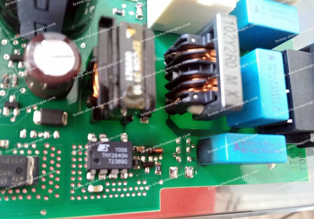 réparation carte de puissance lave vaisselle