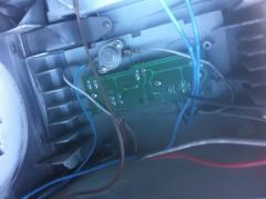 branchement moteur aspirateur Rowenta