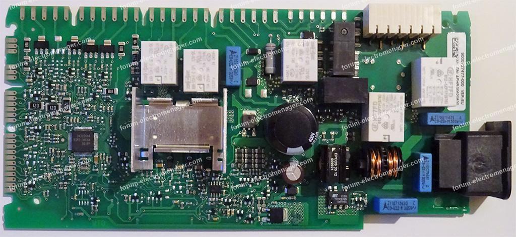 dépannage carte lave vaiselle Bosch sms40d12eu 1