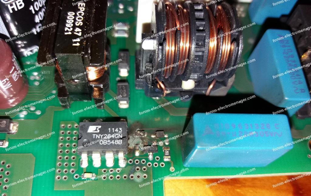 dépannage carte lave vaisselle Bosch SMS53M52FF