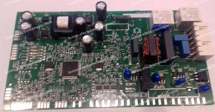 dépannage carte lave-vaisselle Electrolux ESL6541LO