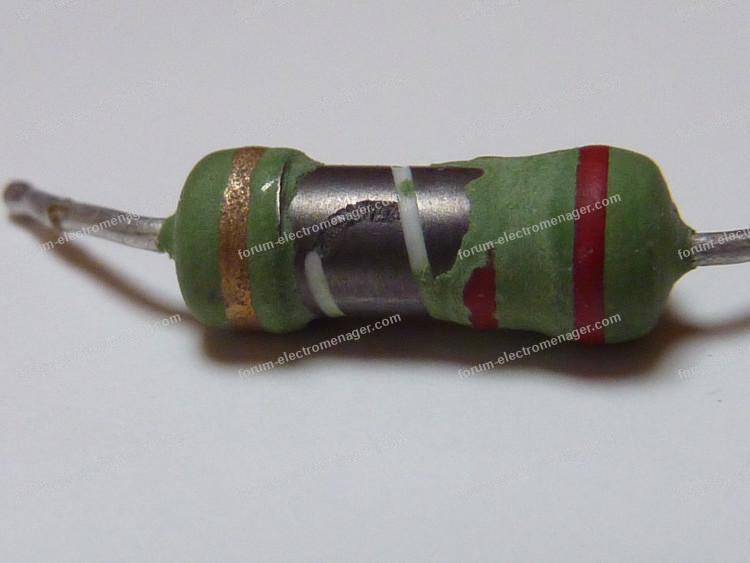 résistance r22 film vert
