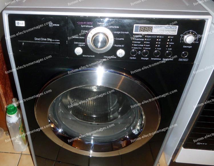 bruit de pompe lave-linge LG