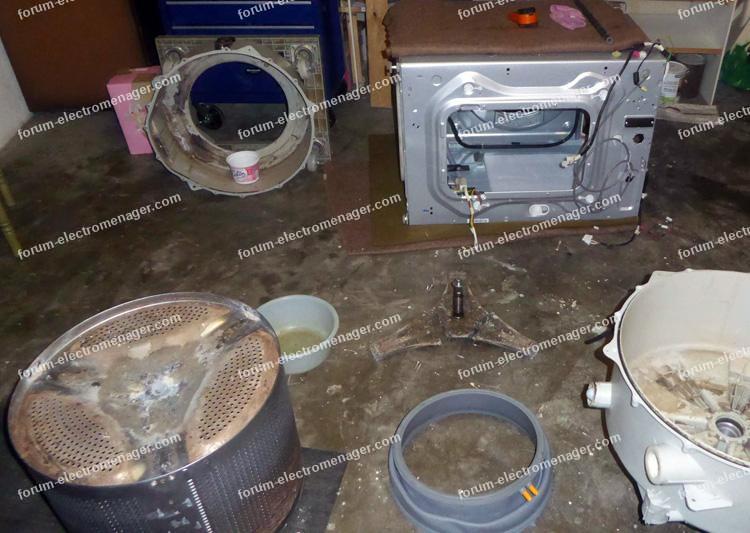 bruit de pompe lave linge LG