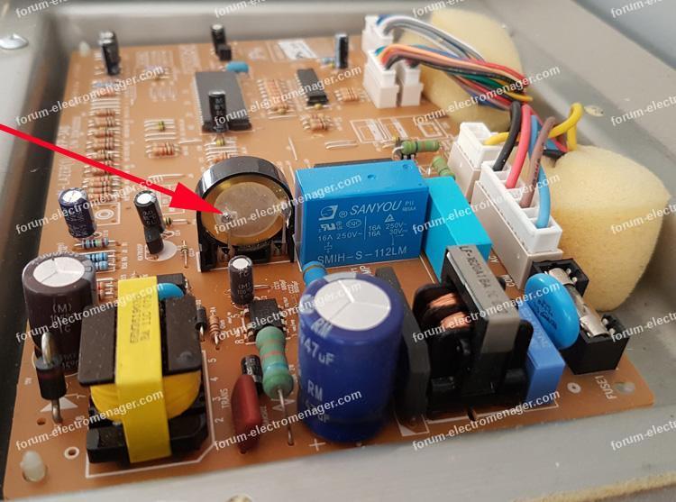 supprimer buzzer cylindrique circuit imprimé