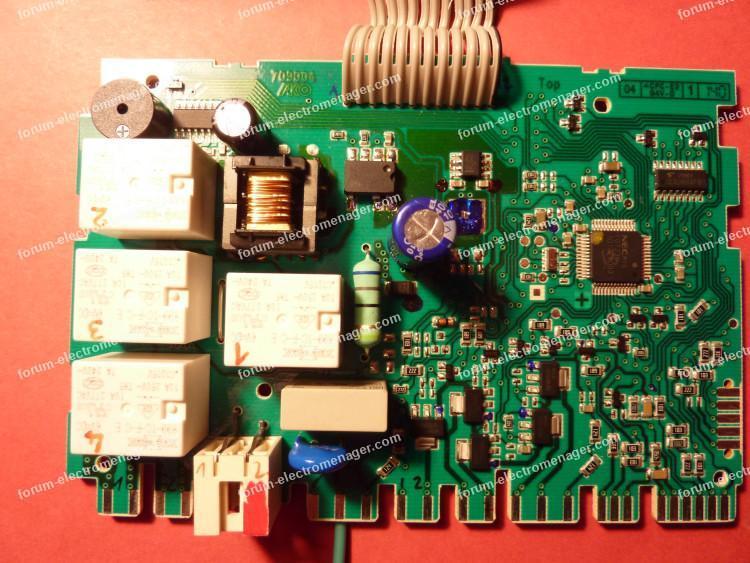 carte de contrôle lave vaisselle Bosch