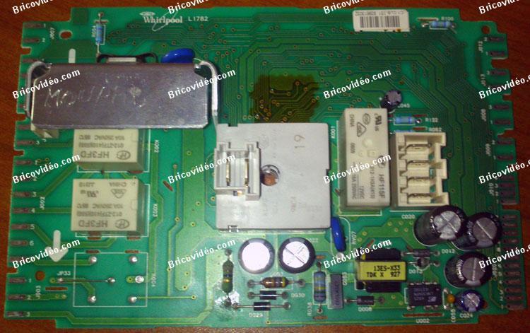 carte electronique lave linge whirlpool Profil du membre Malek sur le forum Électroménager