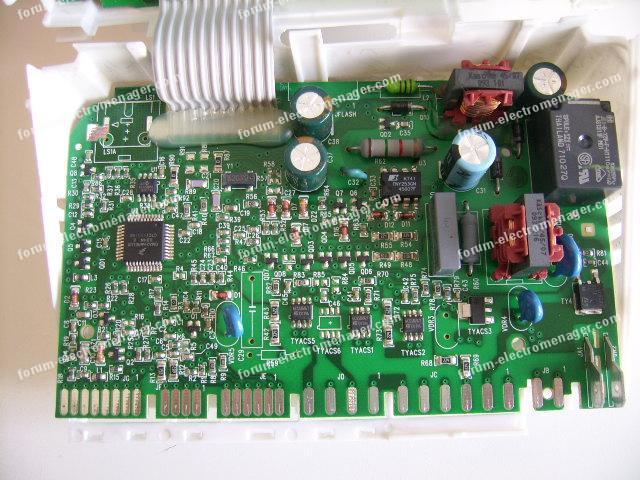 dépannage carte électronique lave vaisselle AEG favorit