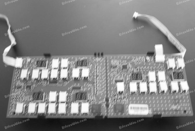 carte electronique plaque induction sauter