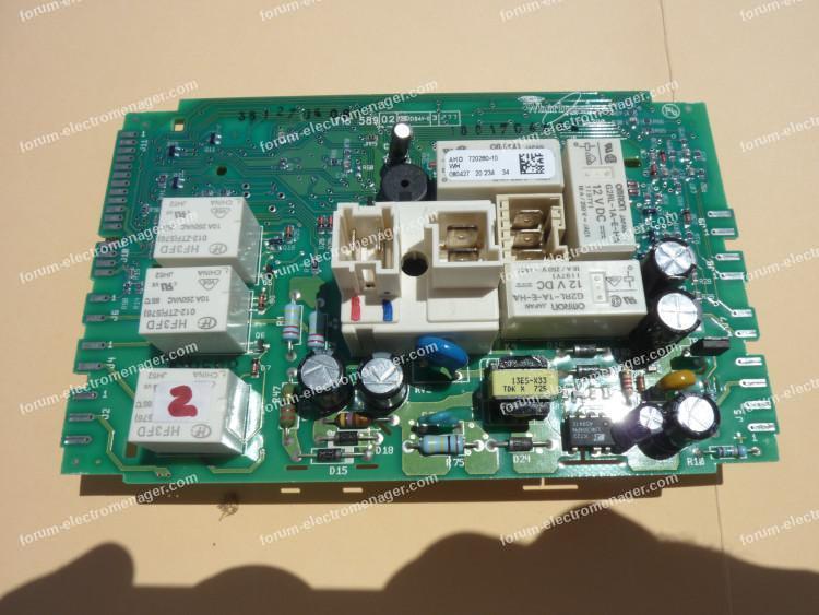dépannage carte électronique L1790