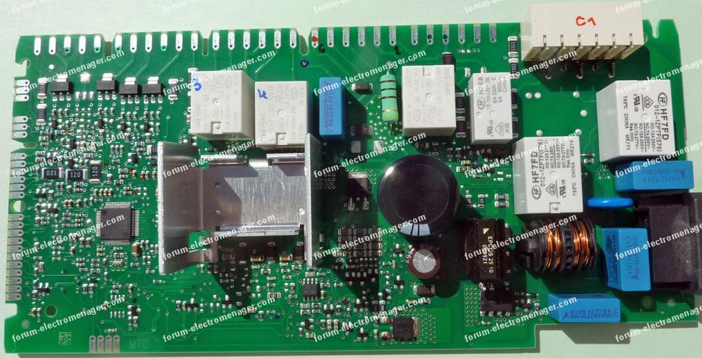 carte lave-vaisselle Bosch SMI53M75EU/43