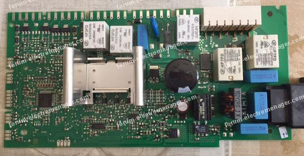 dépannage carte lave vaisselle Bosch SMS 53 M02