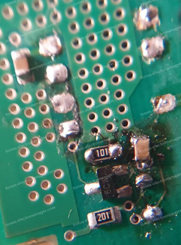 panne carte lave-vaisselle Bosch SMS50E02FR