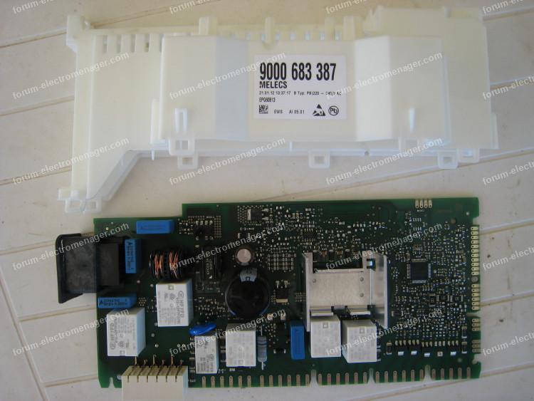 carte lave vaisselle Bosch SMV53N00EU