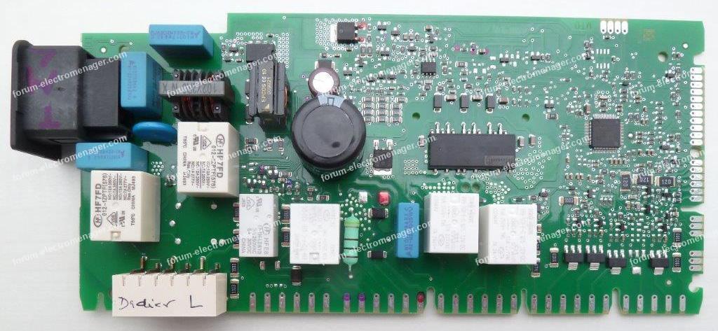 carte lave-vaisselle Siemens SN26M882FF