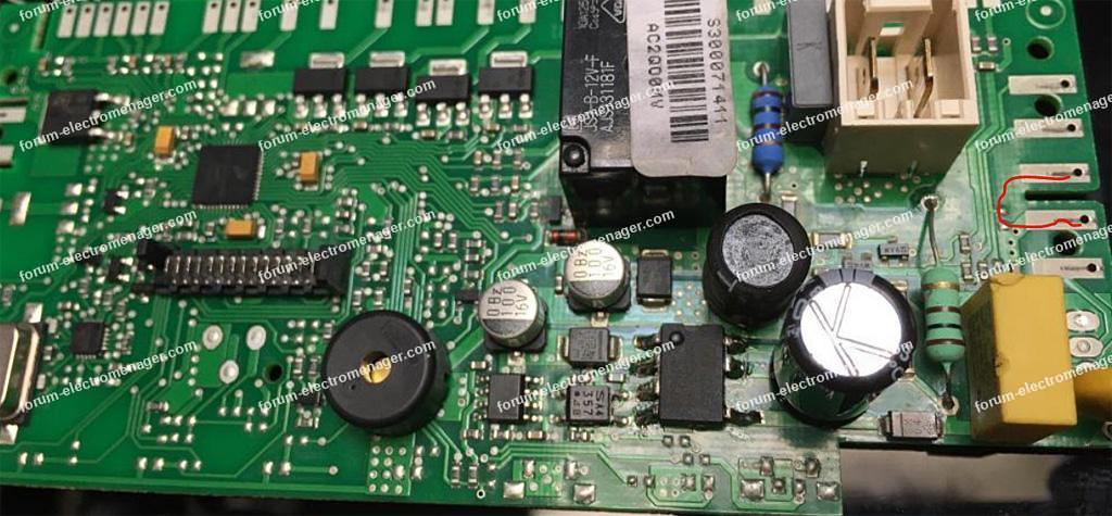 dépannage carte lave-vaisselle SMEG STA643DD