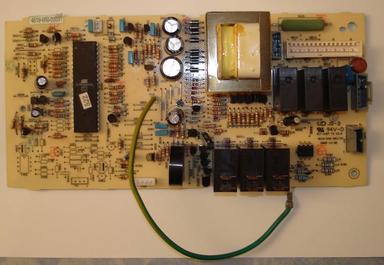 prix pi ces d tach es four micro ondes carte composants. Black Bedroom Furniture Sets. Home Design Ideas