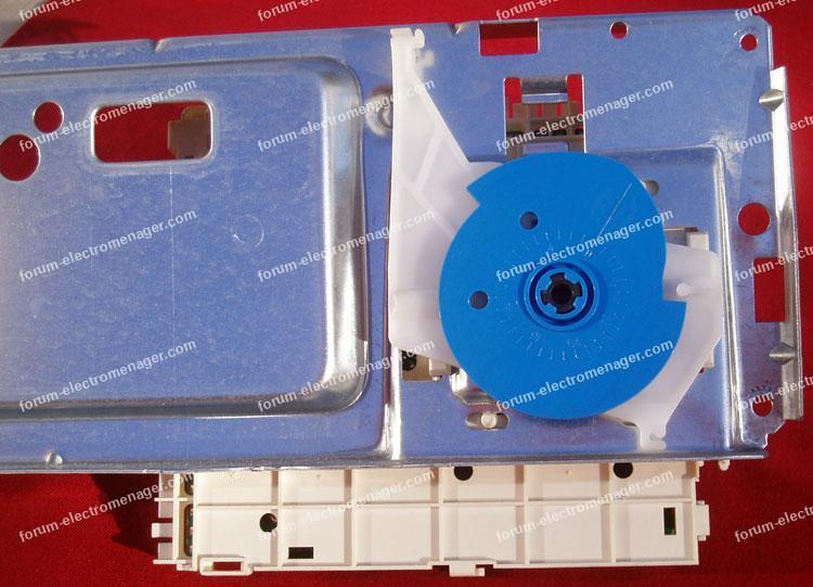 remplacer programmateur sur lave linge Whirlpool