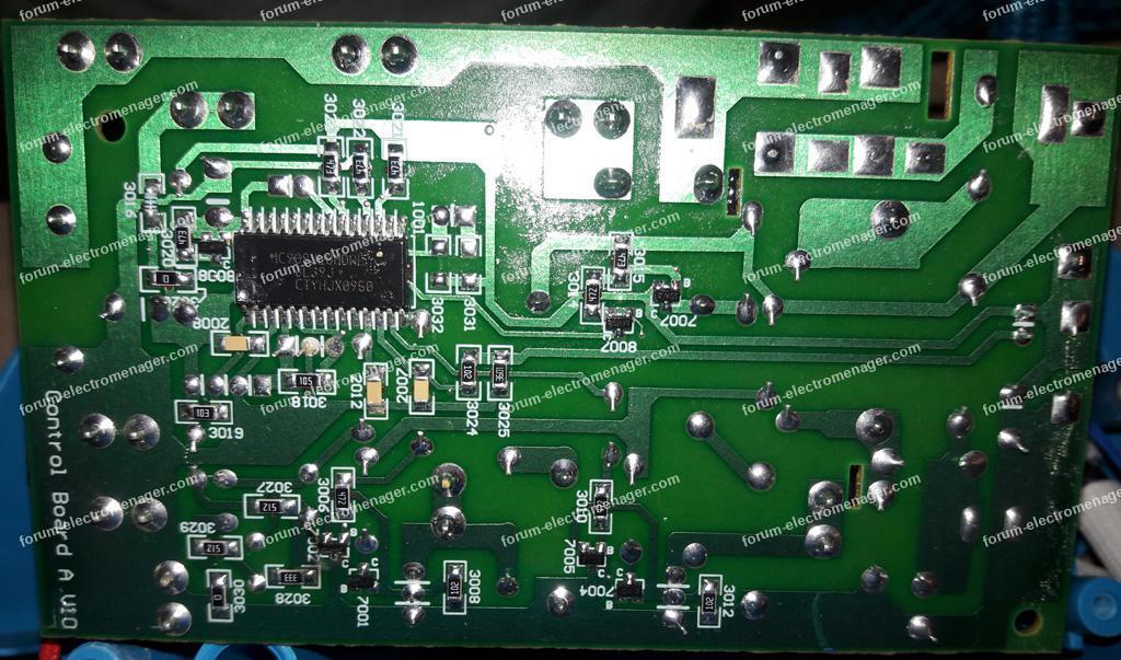 circuit imprimé centrale vapeur Phillips