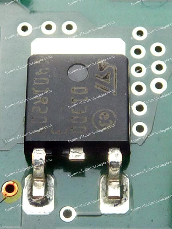 composant lave vaisselle Bosch SMV53NOOEU