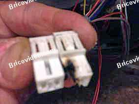 connecteur brule