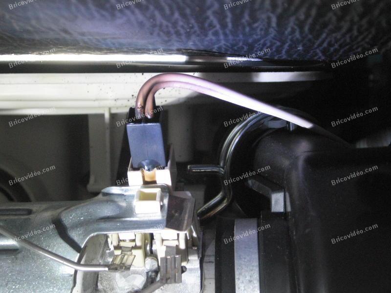 connecteur résistance lave-vaisselle Whirlpool