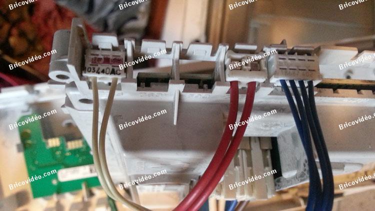 connecteurs lave linge Whirlpool 6 sens