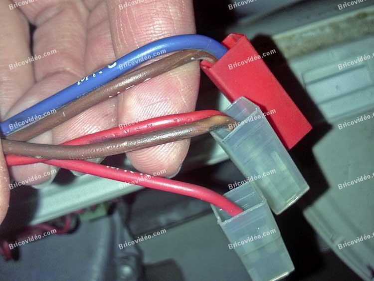 connectiques sécurité de porte lave linge Ariston