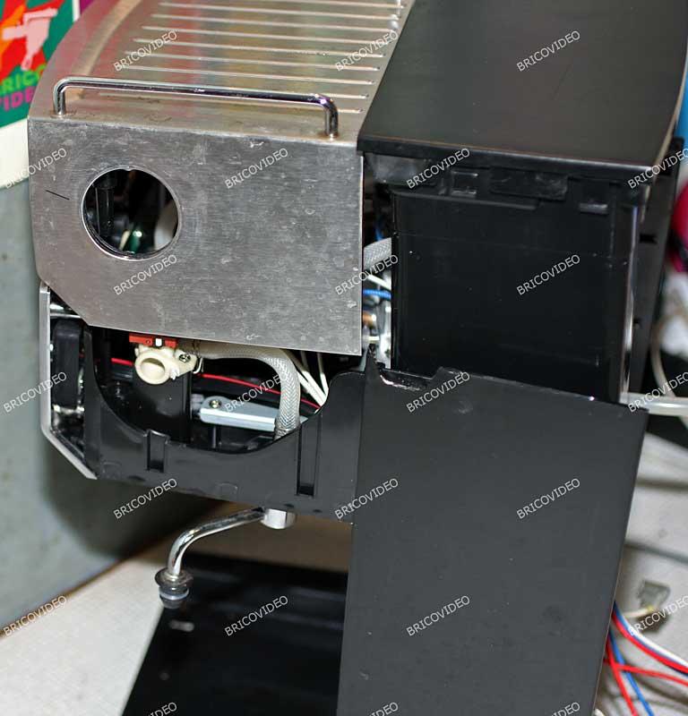 demontage bouton vapeur expresso krups 03