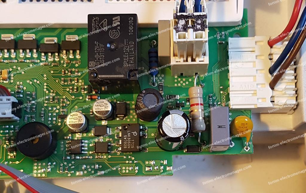Dépannage carte de commande lave vaisselle Smeg LSA645X