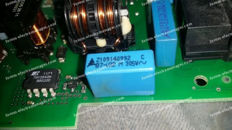 dépannage carte de contrôle lave-vaisselle Bosch
