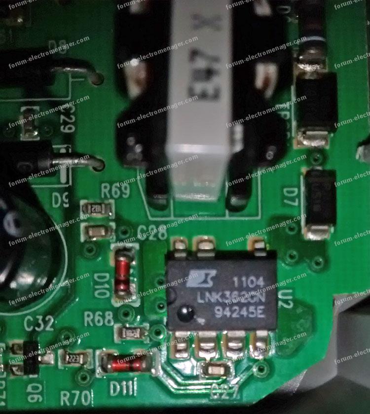 dépannage carte de contrôle lave-vaisselle Electrolux