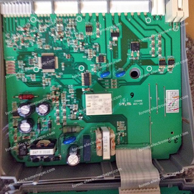 dépannage carte lave vaisselle Electrolux ESF65068S