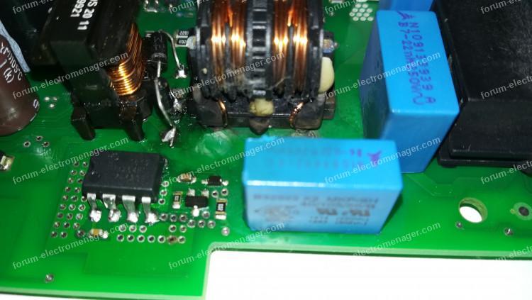 dépannage carte électronique lave-vaisselle Bosch SMI53M95EU / 44