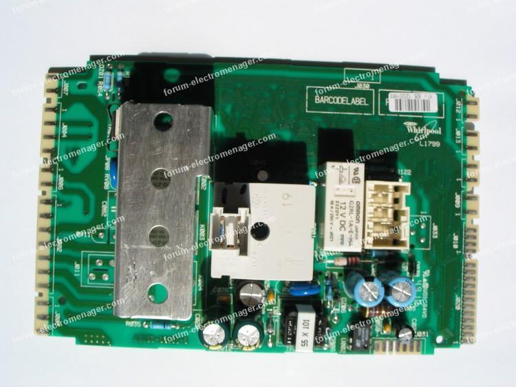 dépannage carte lave linge Laden FL1466
