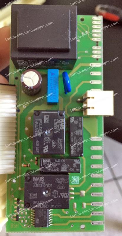 dépannage lave vaisselle Bosch SGS55M02FF