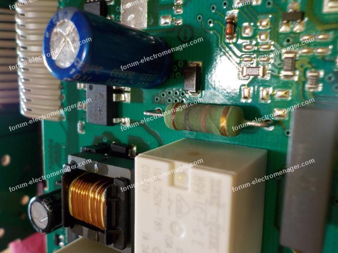 dépannage carte lave vaisselle Bosch SGV46MO3EP