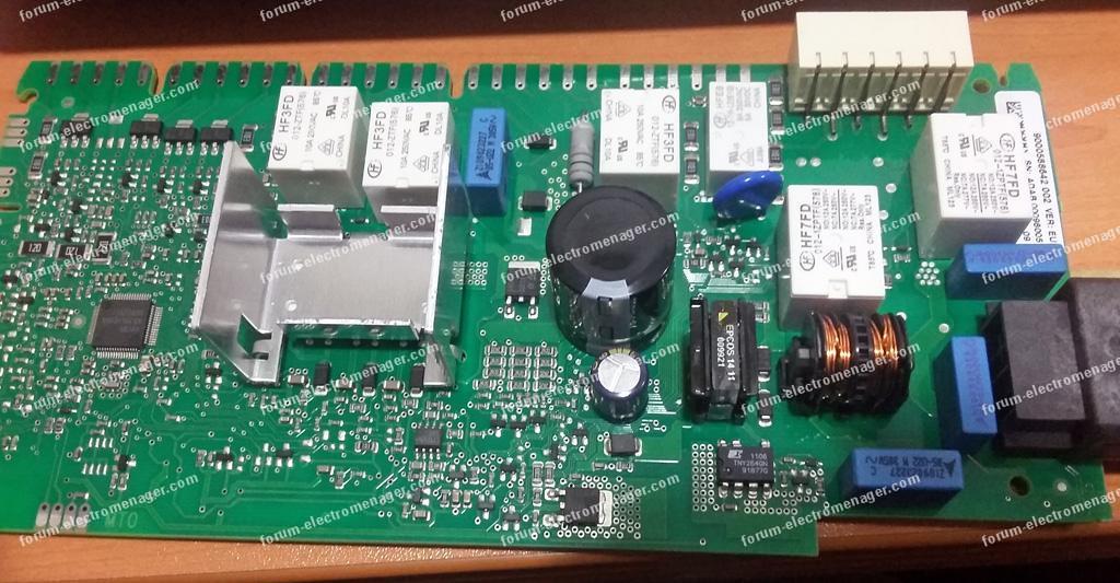 panne carte lave vaisselle Bosch SMS 53 M02