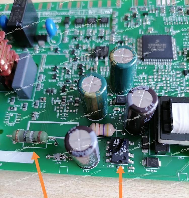 dépannage carte lave vaisselle Electrolux ESF5518LZW