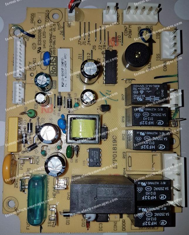 dépannage carte lave-vaisselle FAR LV1149