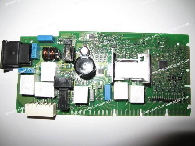 dépannage carte lave vaisselle Siemens sn26m898eu