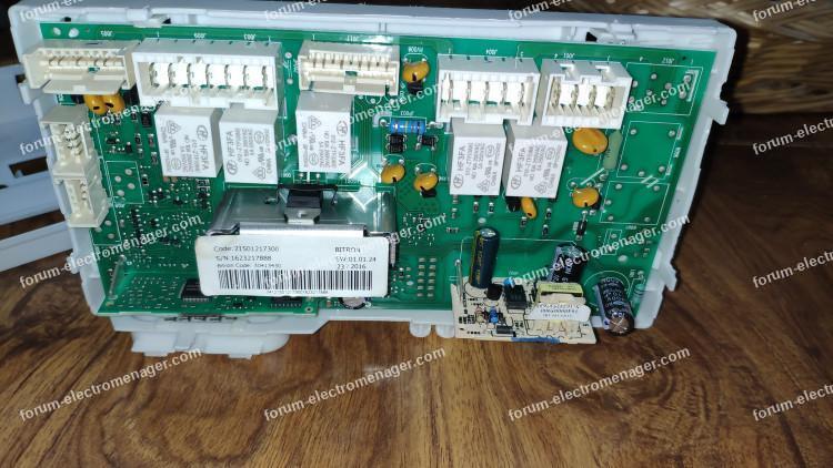 dépannage carte machine à laver Indesit EWC 71452