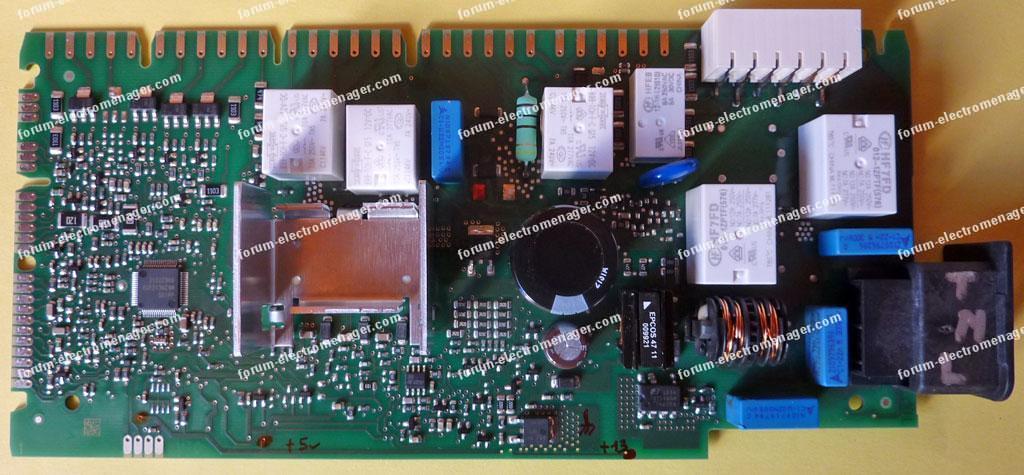 dépannage carte Siemens Bosch 9000 597 461