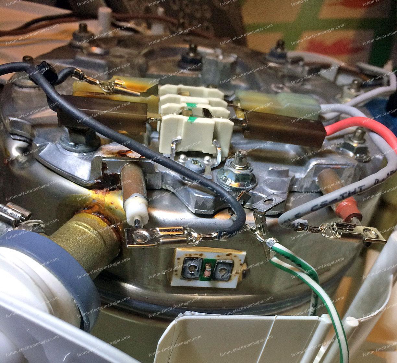 Forum lectrom nager probl me chaudi re d 39 une centrale for Nettoyer la semelle d une centrale vapeur