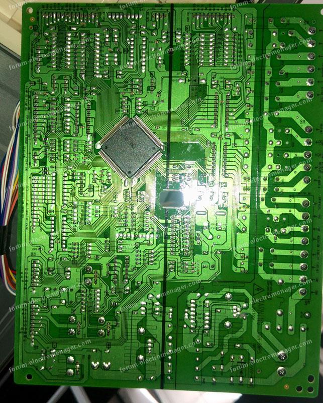Dépannage Électroménager : Panne coté congelateur americain Samsung