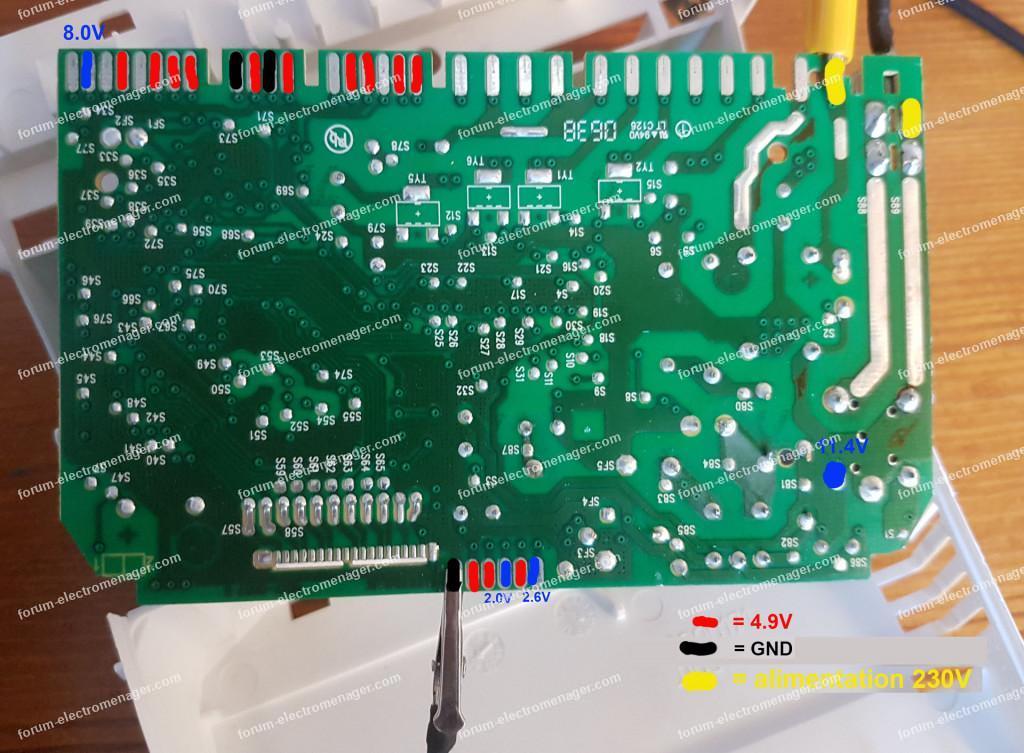 Dépannage carte lave vaisselle Arthur Martin Electrolux ASI 6234