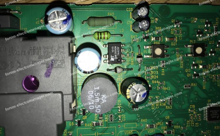 dépannage carte lave-vaisselle Electroluxbricovideo