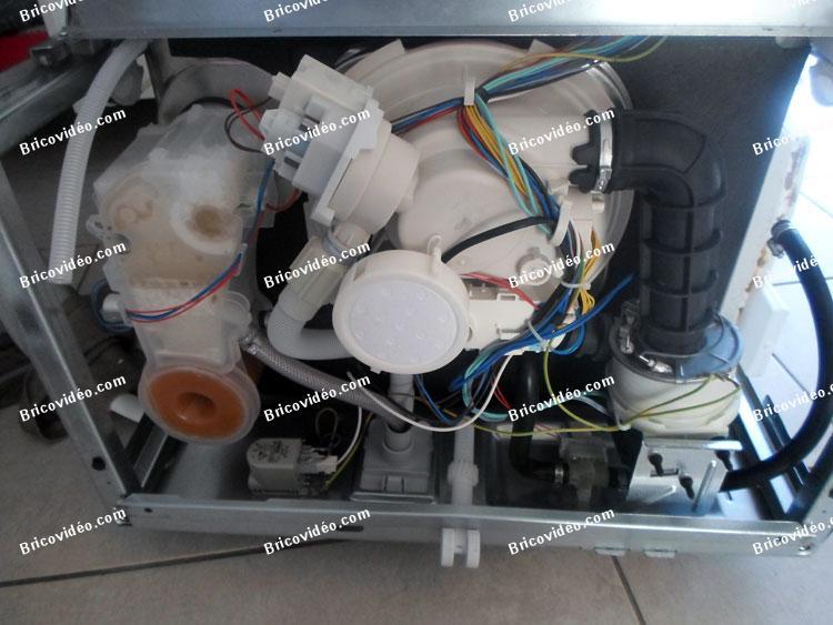 Bricovidéo Forum électroménager Problème Lave Vaisselle
